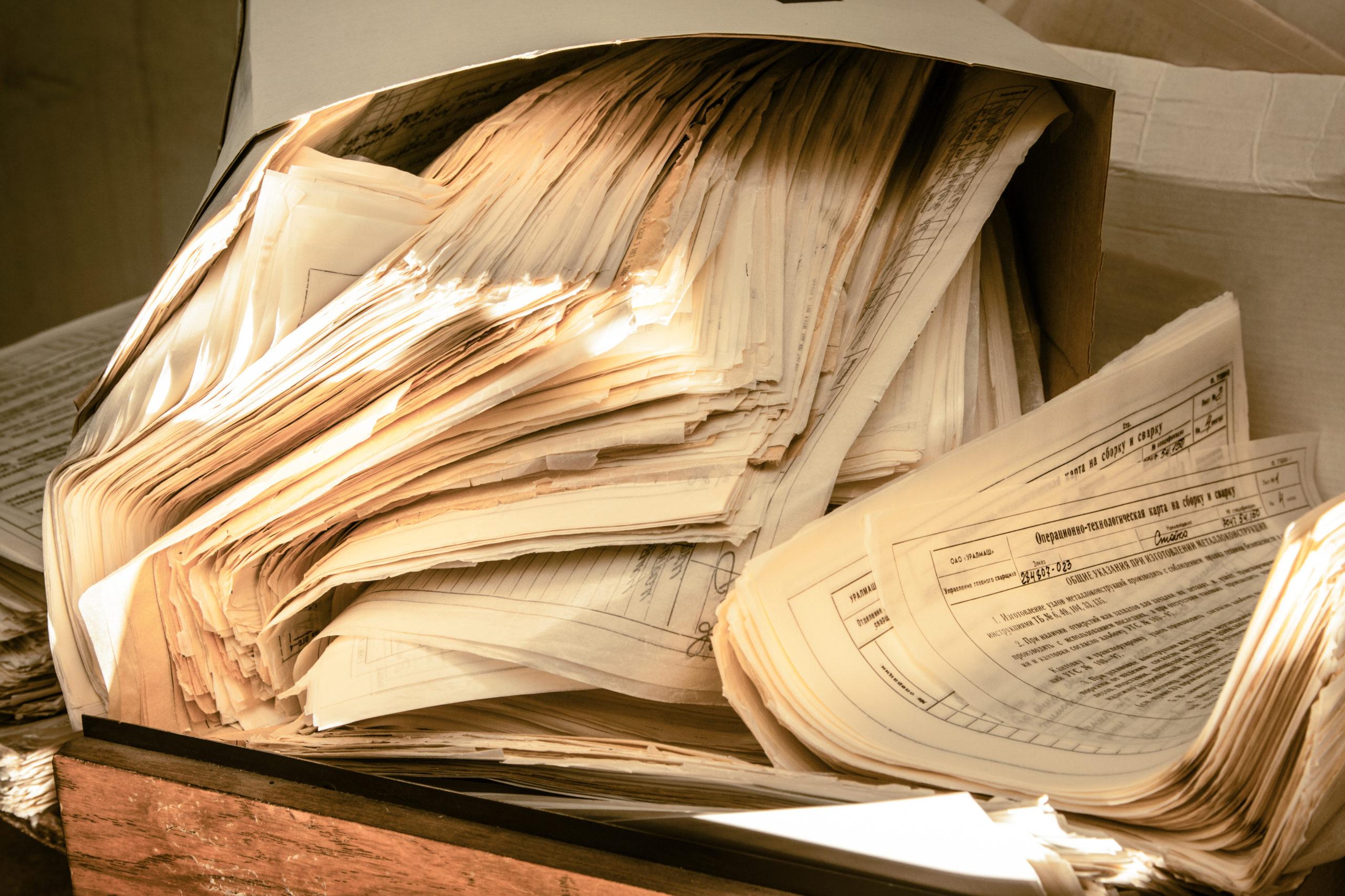 osuszanie pozalaniu - osuszanie dokumentów